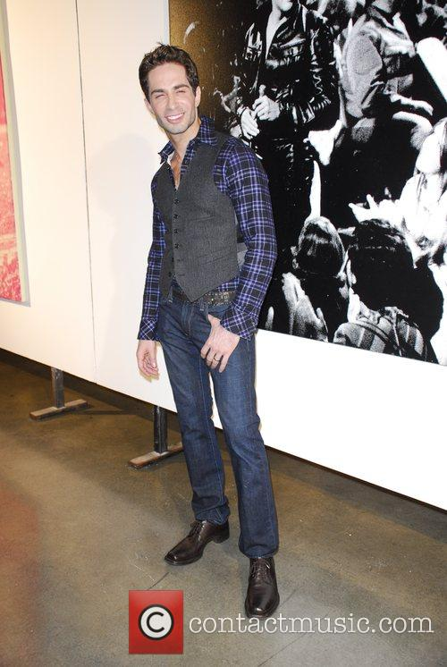 Michael Lucas Russell Young Art Opening Reception at...