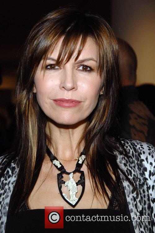 Finola Hughes  attends Russell Young's
