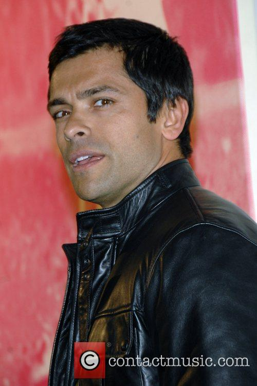 Mark Consuelos attends Russell Young's
