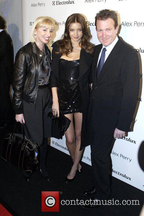 Miranda Kerr and Guests Alex Perry Spring/Summer 2008/09...