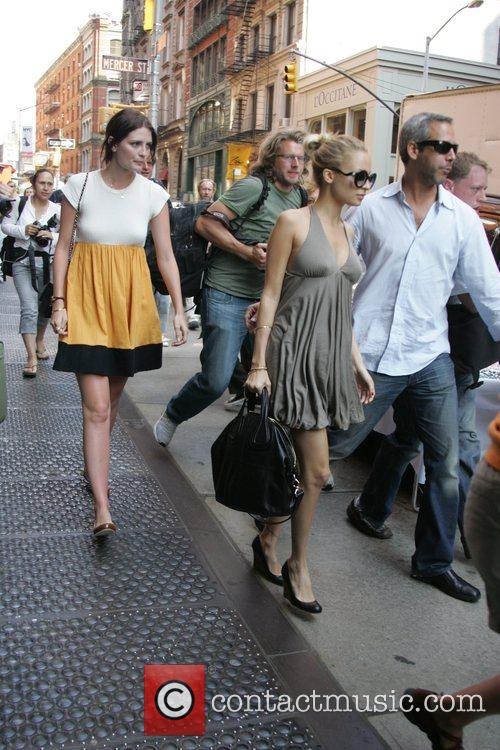 Leaving their hotel together, Mischa Barton wore a...