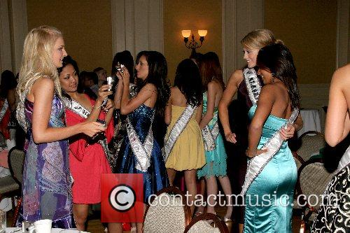 Contestants Welcome reception for Miss Teen USA 2007...