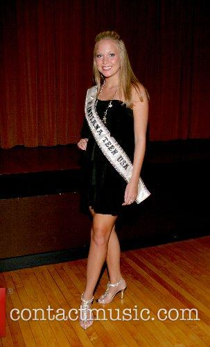 Victoria Tomlinson Welcome reception for Miss Teen USA...