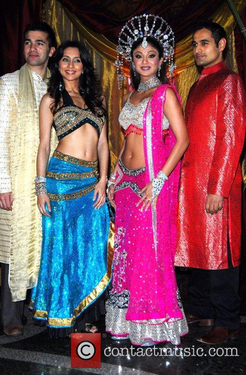 Wayne Perry, Anousha Dandekar, Shilpa Shetty and Nicholas...