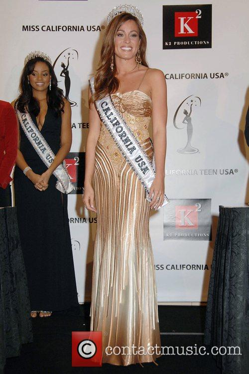 After an error controversy, the new Miss California...