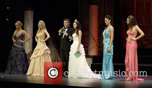 David Lowe and Contestants Miss Earth Australia pageant,...