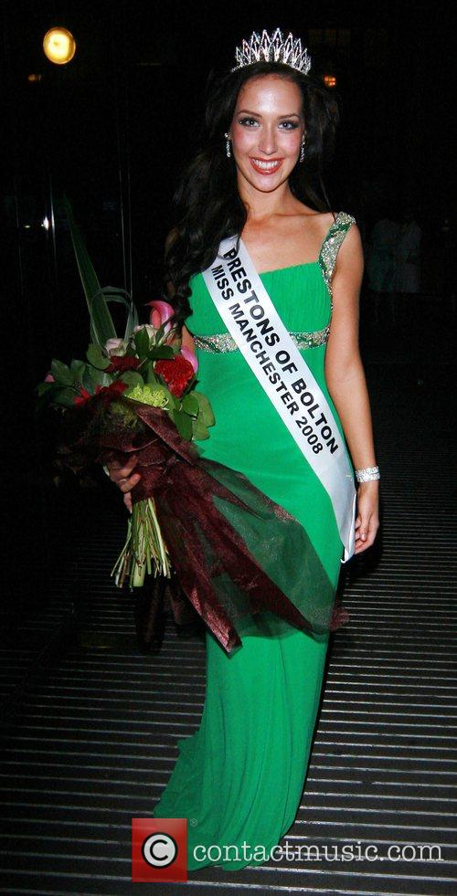 Jessica Simpson Winner of Miss Manchester 2008, The...