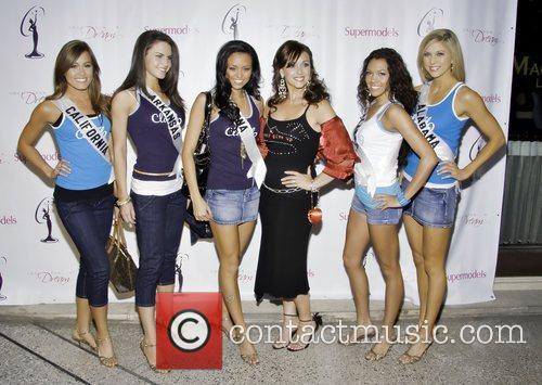 Miss California - Raquel Beezley, Miss Arkansas -...