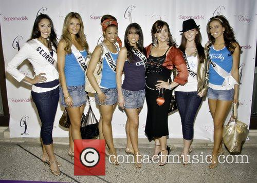 Miss Georgia Amanda Kozak,Miss Florida Jessica Rafalowski, Miss...