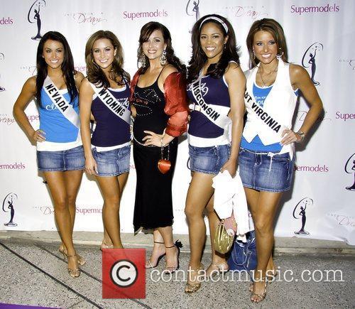 Miss Nevada Veronica Grabowski, Miss Wyoming Cassie Shore,...