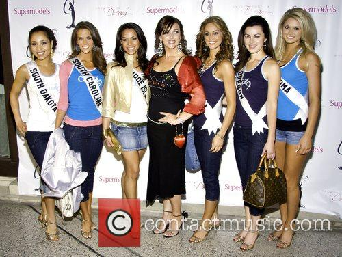Miss South Dakota Charlie Buhler, Miss South Carolina...