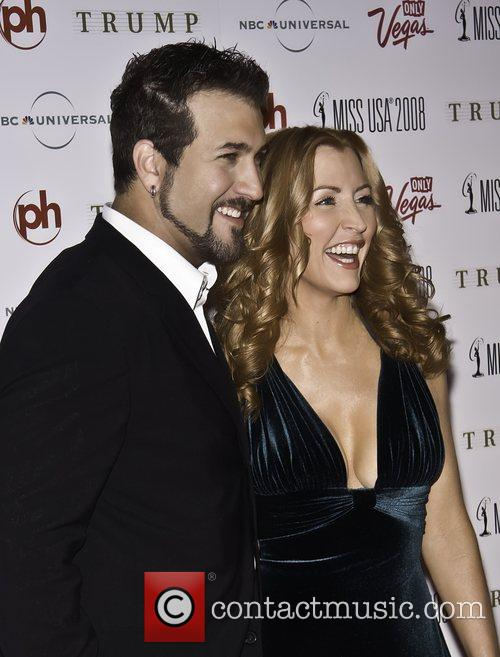 Joey Fatone, Heather Mills The 57th Annual Miss...