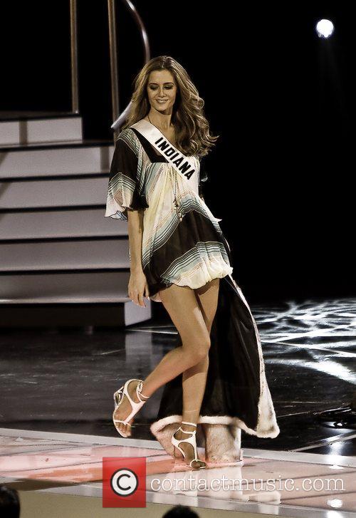 Miss Indiana - Brittany Mason Miss USA 2008...