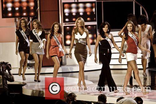 Miss Louisiana - Michelle Berthelot, Miss New Jersey...