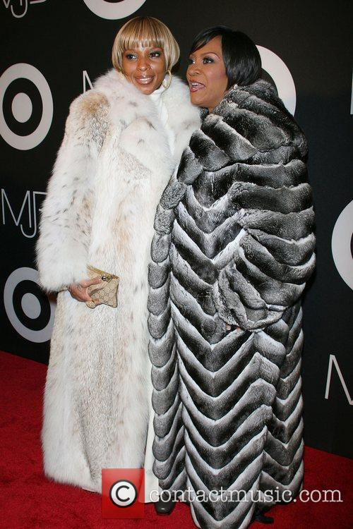 Mary J Blige and Patti LaBelle CD release...