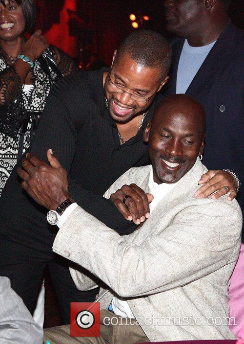 Cuba Gooding Junior, Jordan and Michael Jordan 2
