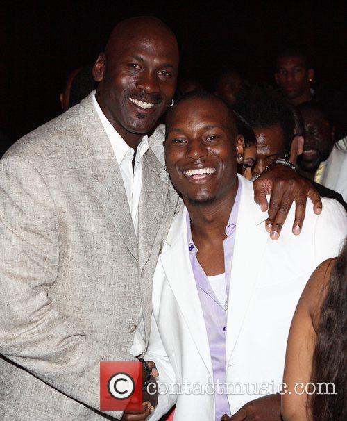 Michael Jordan, Jordan and Tyrese 8