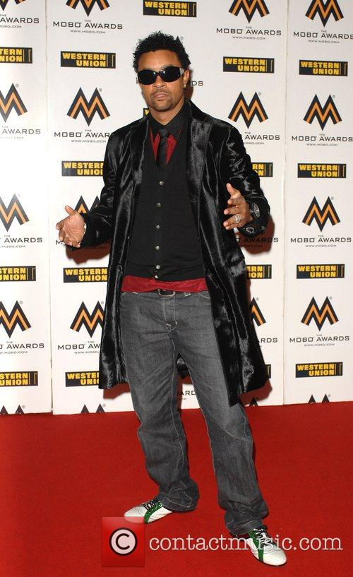Shaggy The MOBO Awards held at the O2...