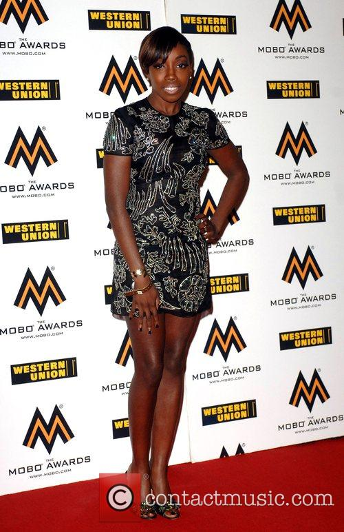 Estelle The MOBO Awards held at the O2...