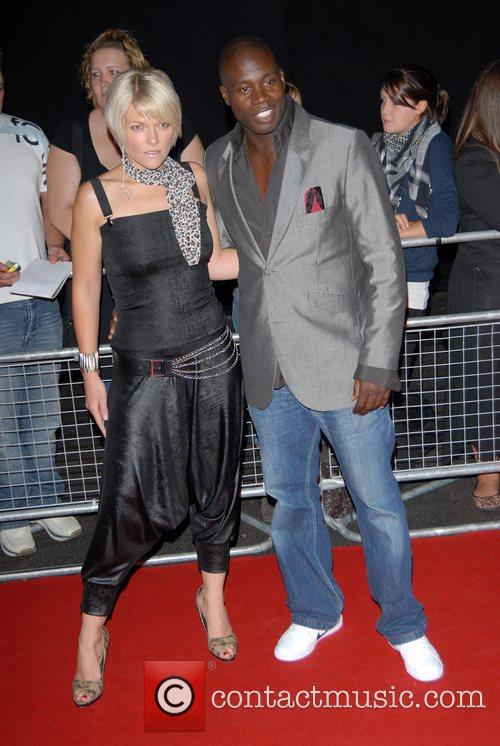 Martin Offiah and guest The MOBO Awards held...