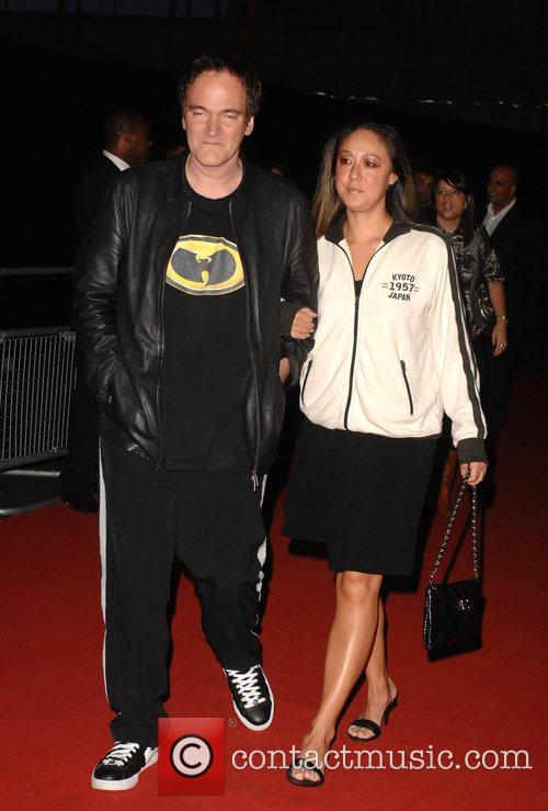 Quentin Tarantino and guest The MOBO Awards held...