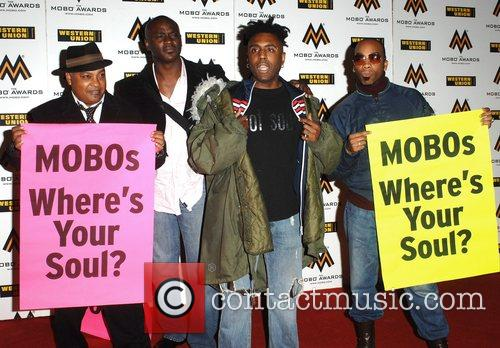 Omar The MOBO Awards held at the O2...