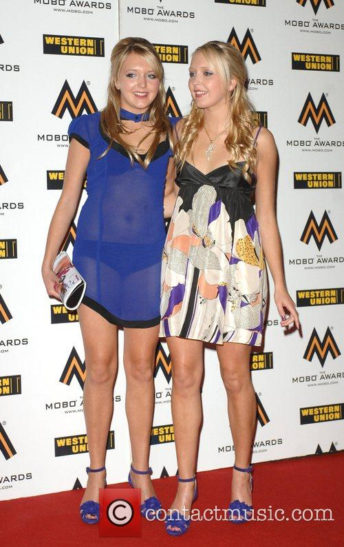 Amanda Marchant and Sam Marchant The MOBO Awards...