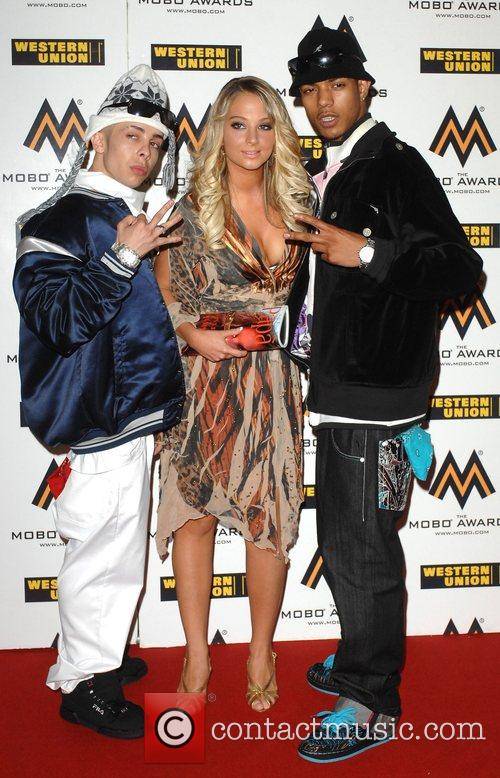 N-DUBZ  The MOBO Awards held at the...