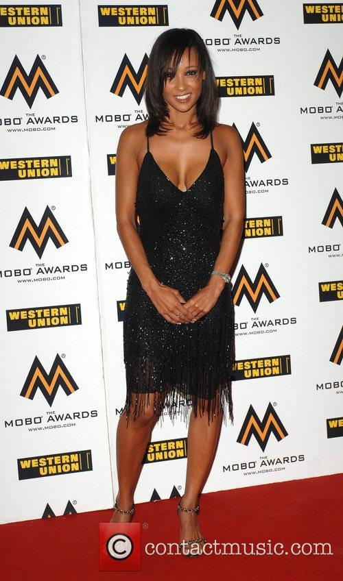 Lisa Maffia The MOBO Awards held at the...
