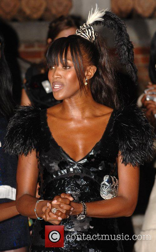 Naomi Campbell The Moet Mirage at Holland Park...