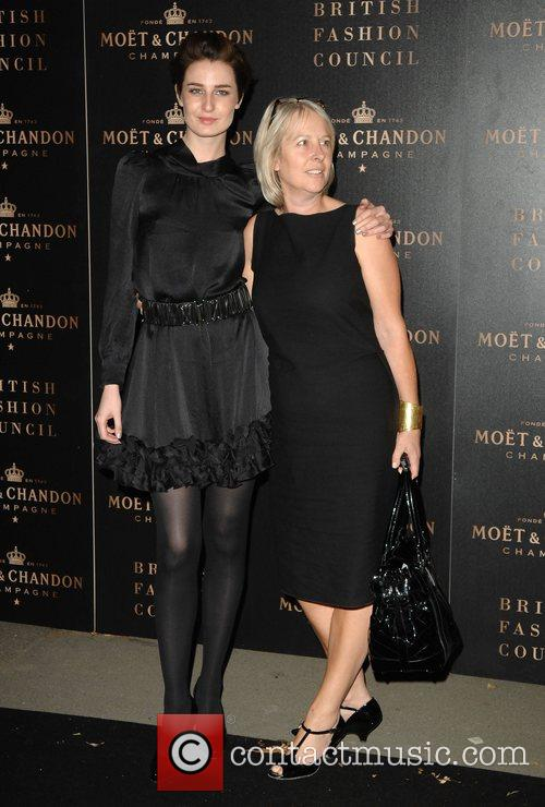 Erin O'Connor and Hilary Riva The Moet Mirage...