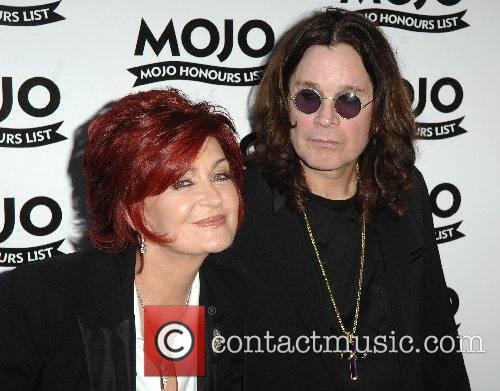 Sharon Osbourne and Ozzy Osbourne Mojo Honours List...