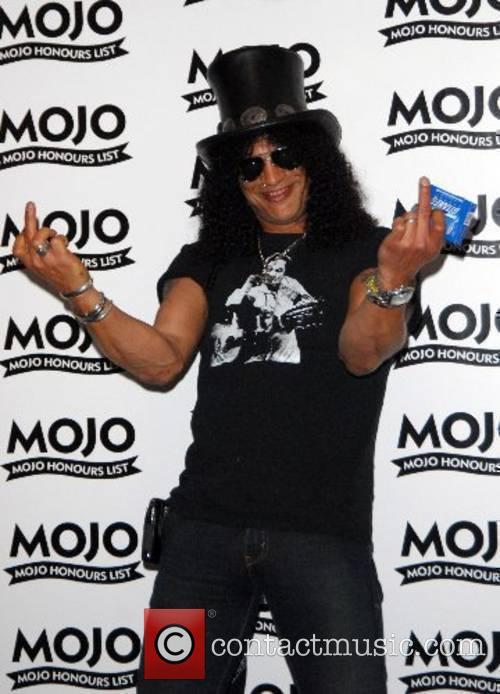 Slash Mojo Honours List - Arrivals London, England