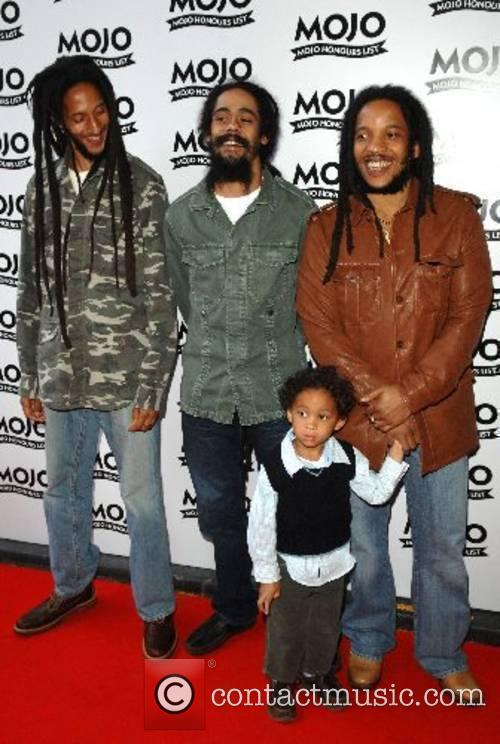 Steve Marley; Julian Marley; Damian Marley Mojo Honours...