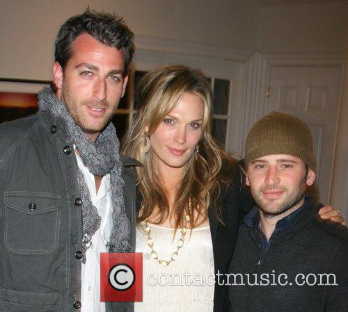 Mark Birnbaum and Molly Sims