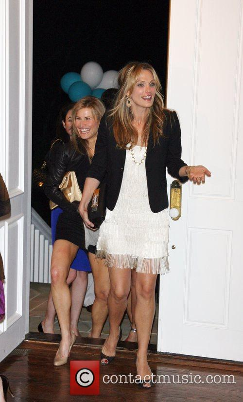 Molly Sims French Connection hosts Molly Sims 35th...