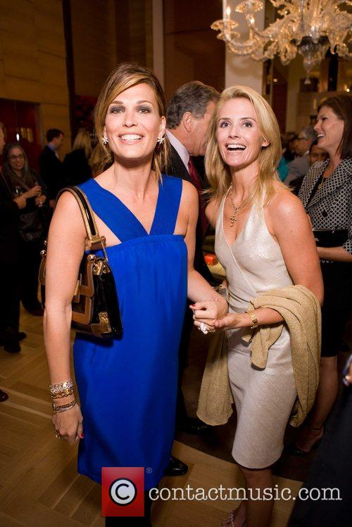 Molly Sims and Jennifer Siebel