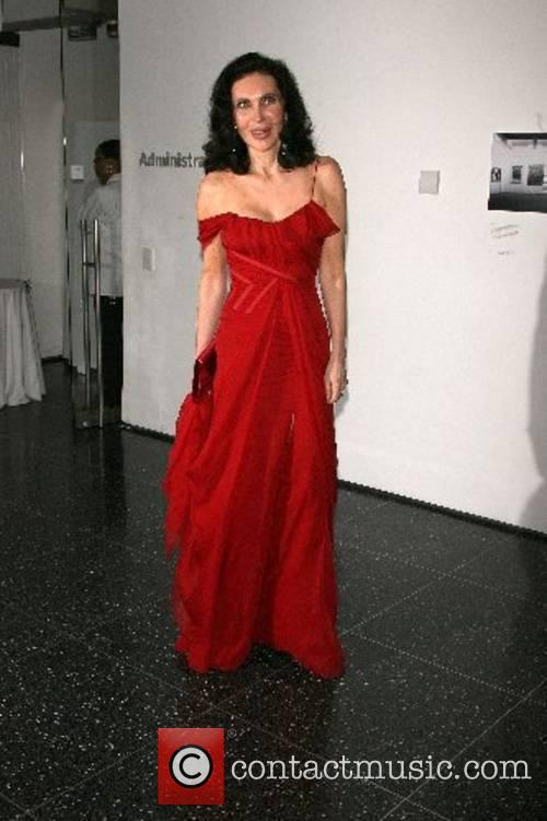 Veronica Hearst Arriving at The Museum of modern...
