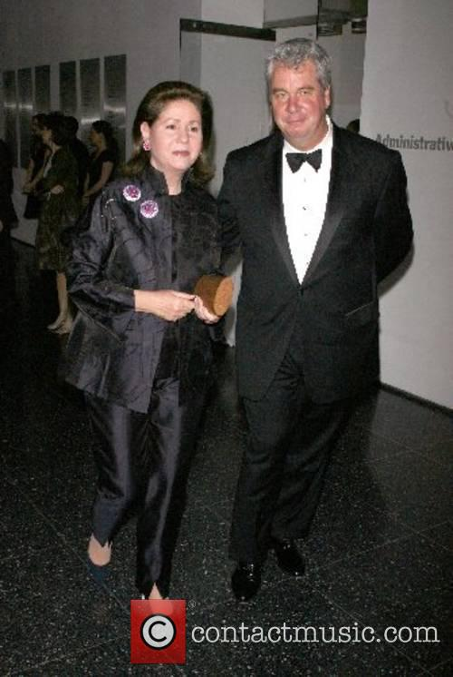 Carole Lauder and John Lauder Arriving at The...