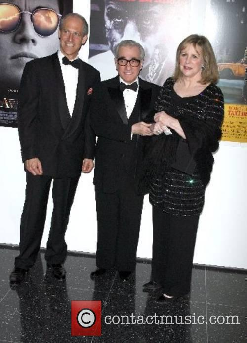 Glen Lawry, Martin Scorsese and Helen Scorsese Arriving...