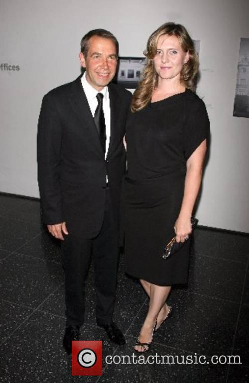 Jeff Koons and Justine Koons Arriving at The...