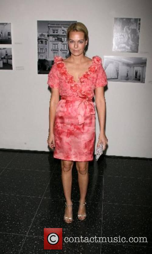 Lauren Dupont Arriving at The Museum of modern...