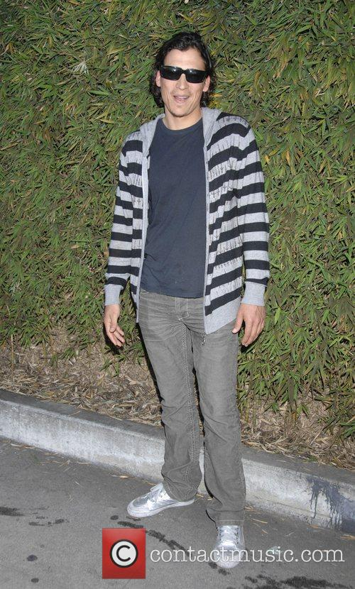 Andrew Keegan Mercedes-Benz Autumn 2008 LA Fashion Week...