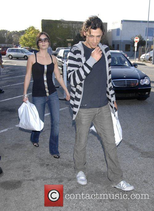 Andrew Keegan and guest Mercedes-Benz Autumn 2008 LA...