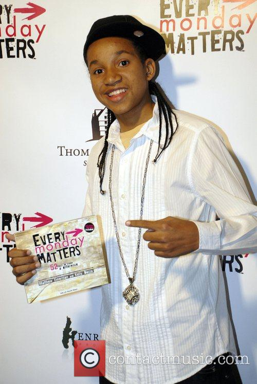 At the 'Every Monday Matters' event benefiting two...