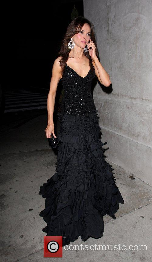Monica Cruz leaving the Villa Nightclub in Hollywood...