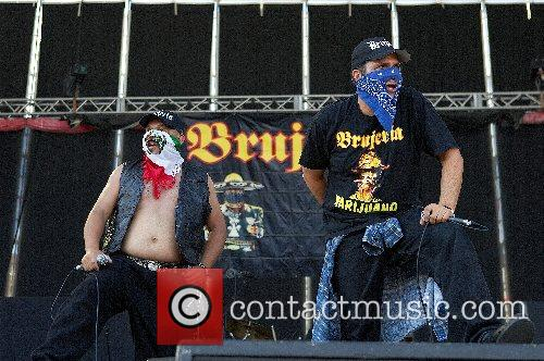 Brujeria Monsters of Rock day 1 at Feria...