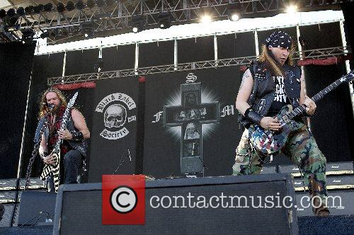 Monsters of Rock day 1 at Feria De...