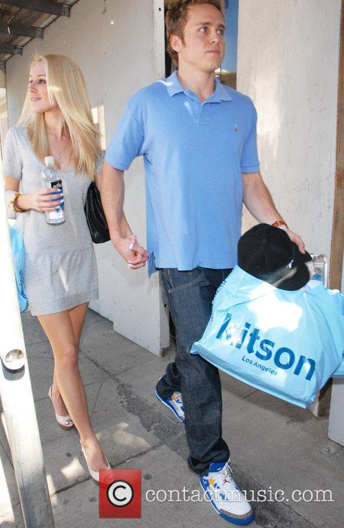 Heidi Montag and Spencer Pratt on Robertson Boulevard...