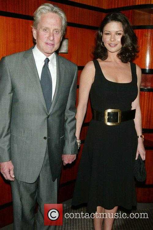 Michael Douglas and Catherine Zeta-Jones O'Neill Theater Center's...